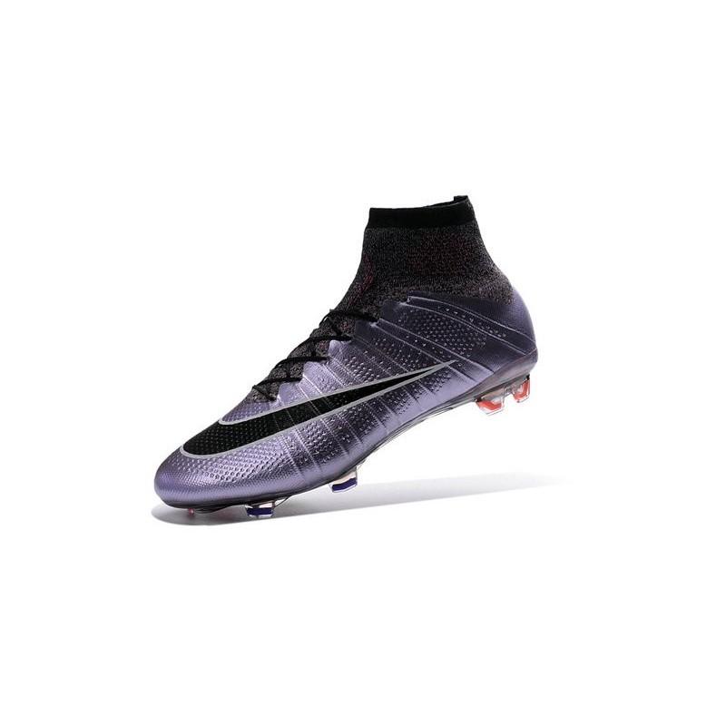 Nike Mercurial Superfly FG ACC New Shoes Lilac Black Mango 93d1f91bee