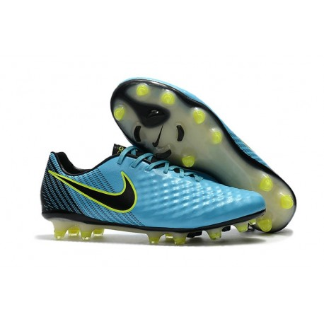 Nike Magista Opus II FG Firm Ground Football Shoes - Blue Black