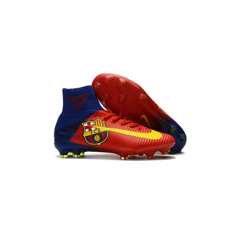 ca5bcde2d Nike Mercurial Superfly 5 FG New Football Boots Barcelona Red Yellow  Maximize. Previous. Next