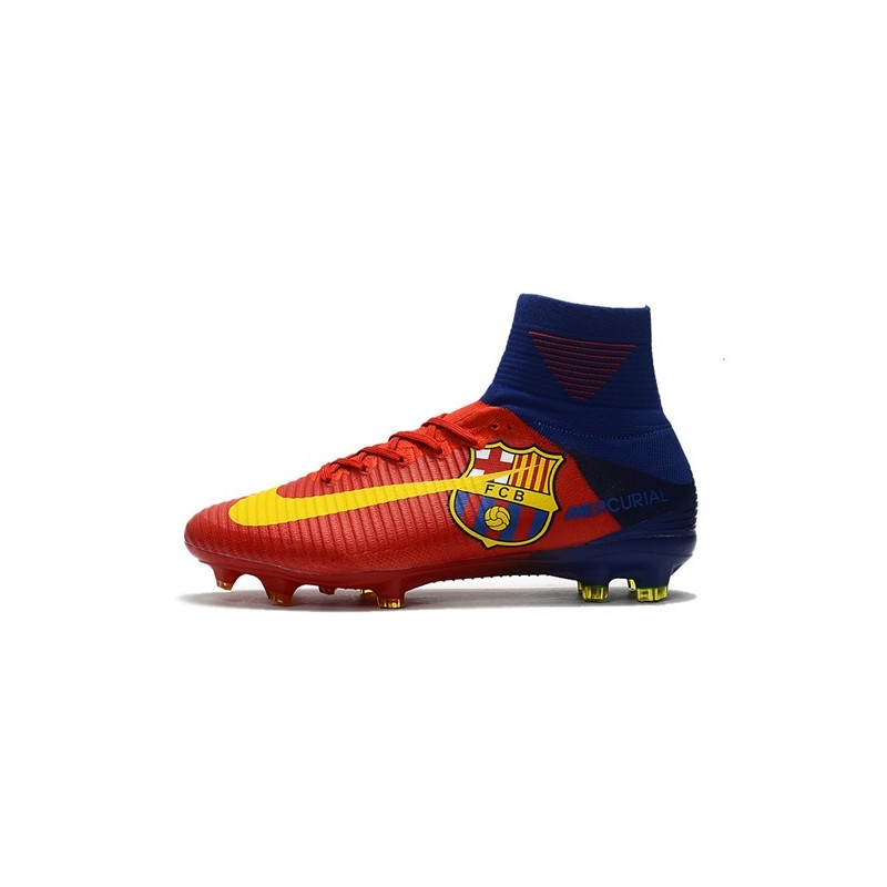2c9310a71d9bc Nike Mercurial Superfly 5 FG New Football Boots Barcelona Red Yellow  Maximize. Previous. Next