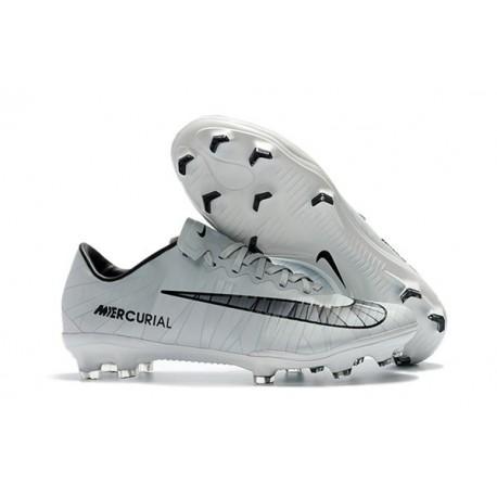 65a9c1bd9 Nike Cristiano Ronaldo Mercurial Vapor XI CR7 FG ACC Soccer Shoes White  Black