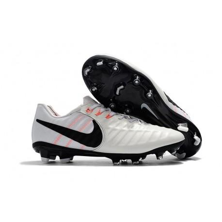 78c8a5ee0 Nike Tiempo Legend VII FG Kangaroo Leather Shoes - White Black
