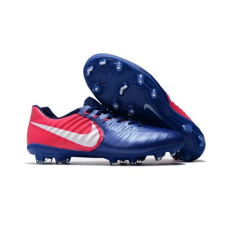 New Nike Tiempo Legend 7 FG ACC Football Boots - Blue Rose