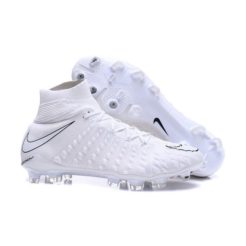 New Nike Hypervenom Phantom 3 DF FG - White