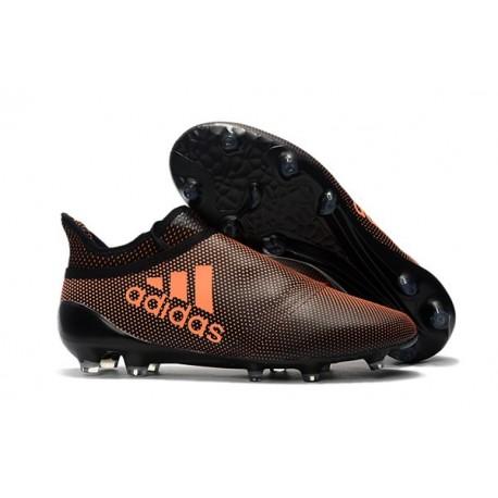 adidas X 17+ Purespeed FG Football Boots Brown Orange