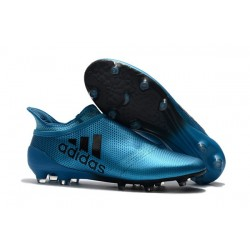 adidas X 17+ Purespeed FG Football Boots Blue Black