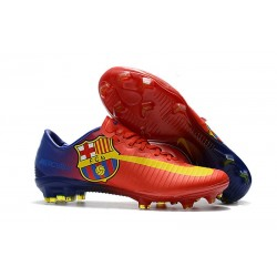 Nike Mercurial Vapor 11 FG New Football Boot - Red Barcelona