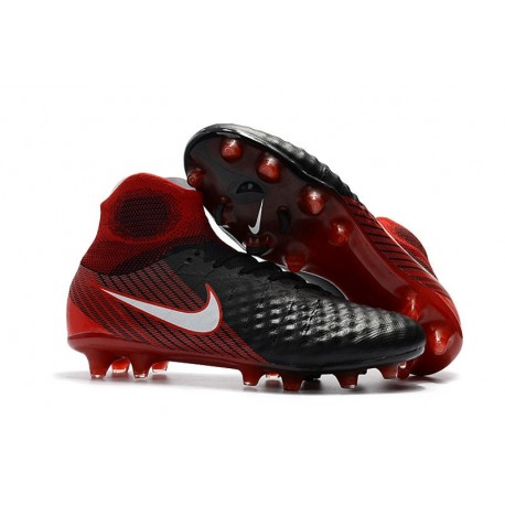 Nike Magista Obra II FG News Football Boots Black Red