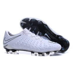 Nike Hypervenom Phantom 3 FG Men Soccer Shoes - Full White