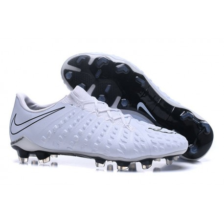 online store 684fd f21b4 Nike Hypervenom Phantom 3 FG Men Soccer Shoes - Full White