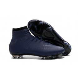 News 2016 Nike Mercurial Superfly FG ACC Cleats Dark Blue