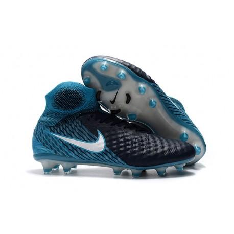 Nike Magista Obra II FG News Football Boots Black Blue
