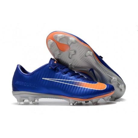 Nike Mercurial Vapor 11 FG New Football Boot - Blue Orange