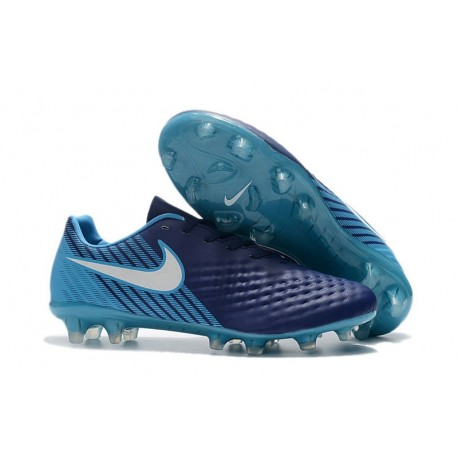 Nike Magista Opus II FG Firm Ground Football Shoes - Deep Blue