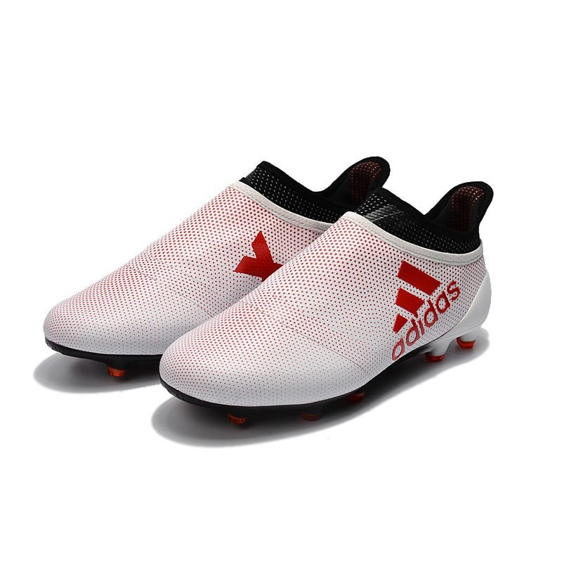 Adidas X 17 Purespeed Fg Football Boots White Red