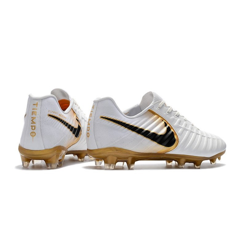 premium selection af100 15f9d New Nike Tiempo Legend 7 FG ACC Football Boots - White Golden