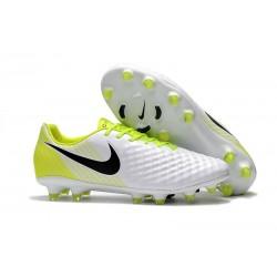 New Nike Magista Opus 2 FG Soccer Boots White Black Volt
