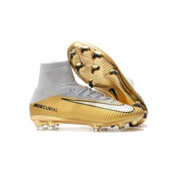 Nike Ronaldo Mercurial Superfly V FG Soccer Cleat -CR7 Quinto Triunfo