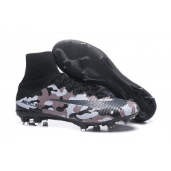 Nike High Top Mercurial Superfly V FG Soccer Cleat - Camo