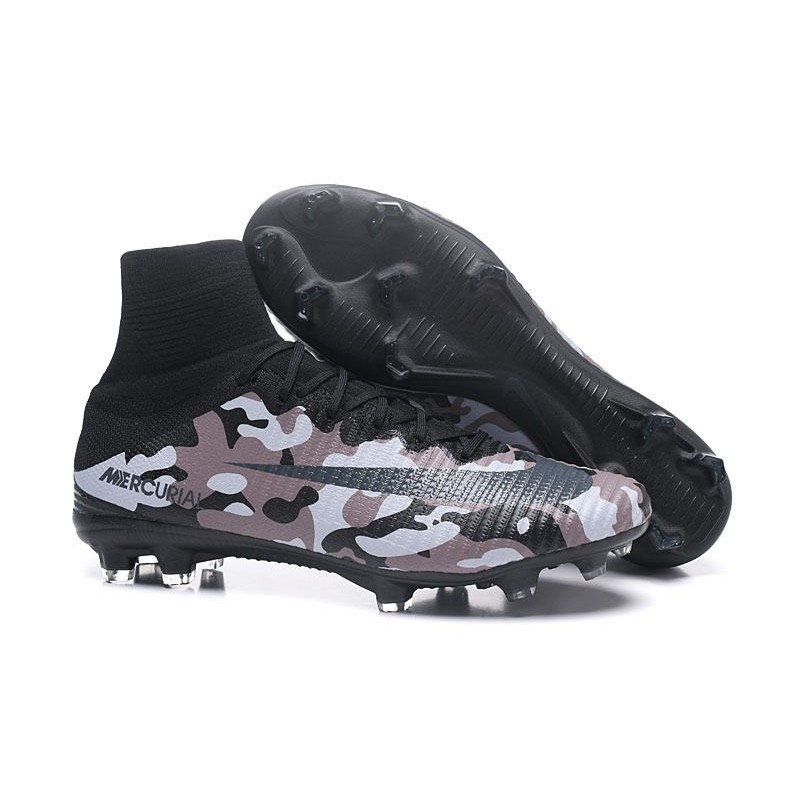 7f2d96a65a8 Nike High Top Mercurial Superfly V FG Soccer Cleat - Camo Maximize.  Previous. Next