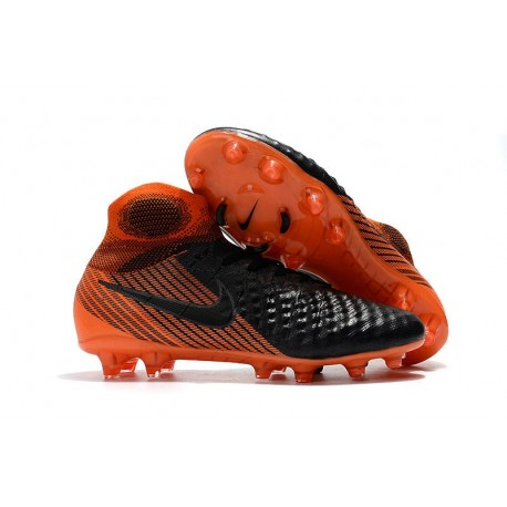 Nike Magista Obra II FG News Football Boots Black Orange
