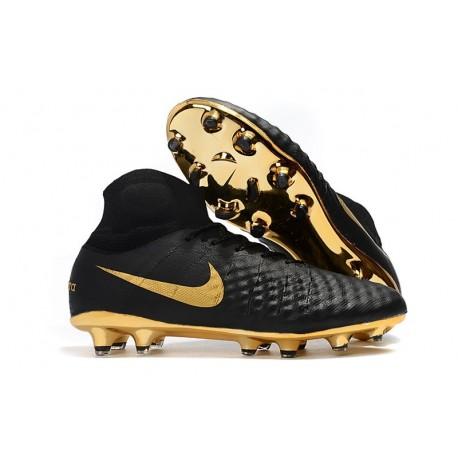 Nike Magista Obra II FG News Football Boots Black Gold