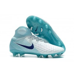 Nike Magista Obra II FG News Football Boots White Blue