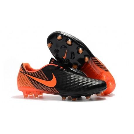 New Nike Magista Opus 2 FG Soccer Boots Black Orange