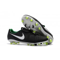 New Nike Magista Opus 2 FG Soccer Boots Black White Green
