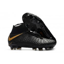 New Nike Hypervenom Phantom 3 DF FG - Black Golden