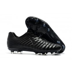 Nike Tiempo Legend VII Elite FG Mens Cleats - Full Black