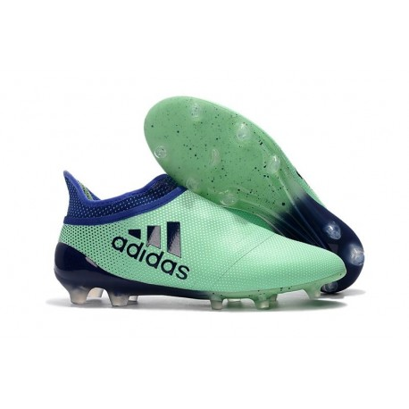 New adidas X 17+ Purespeed FG Soccer Cleats Green Black