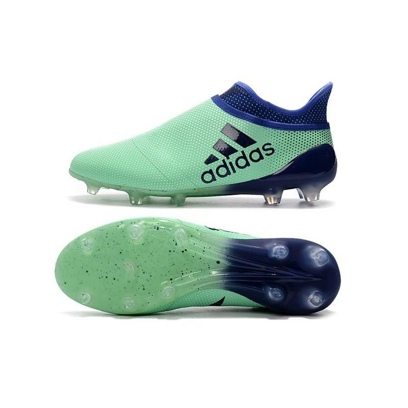 New adidas X 17+ Purespeed FG Soccer Cleats Green Black