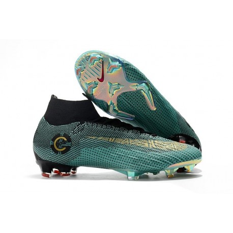 Nike Mercurial Superfly 6 Elite FG Football Boots - Jade Gold