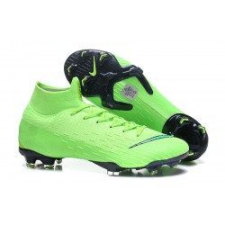 Nike Mercurial Superfly 6 Elite FG Football Boots - Green