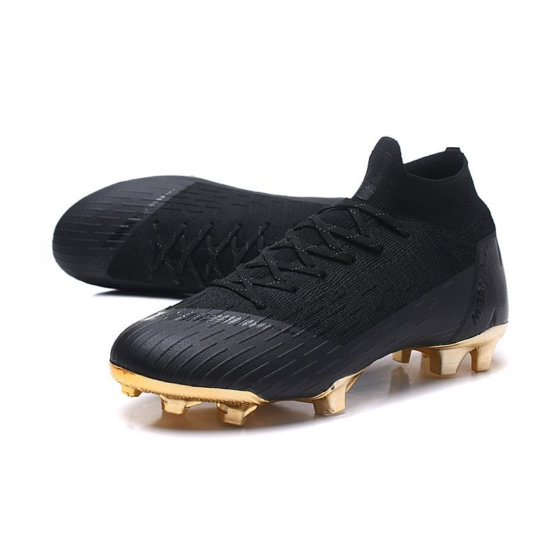 new style bc13b d8dcf Nike Mercurial Superfly VI 360 Elite FG Cleat - Black Gold