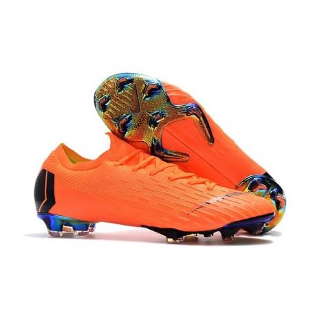 Nike Mercurial Vapor XII FG Football Boots - Orange Black