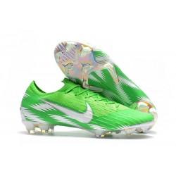 Nike Mercurial Vapor XII FG Football Boots - Green Silver