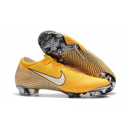Neymar Nike Mercurial Vapor XII FG Football Boots - Yellow White