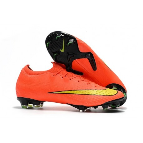 Nike Mercurial Vapor XII FG Football Boots - Crimson Yellow