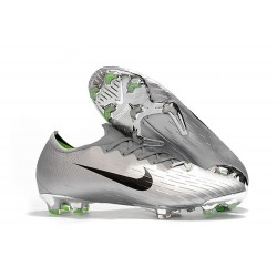 Nike Mercurial Vapor XII 360 Elite FG Mens Cleat - Silver Black