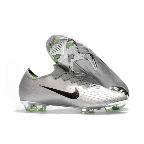 b80a32d1d26 Nike Mercurial Vapor XII 360 Elite FG Mens Cleat - Silver Black