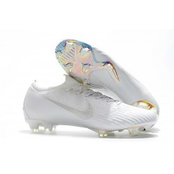 Nike Mercurial Vapor XII 360 Elite FG Mens Cleat - All White