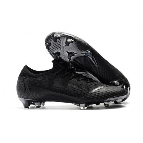 Nike Mercurial Vapor XII 360 Elite FG Mens Cleat - Full Black