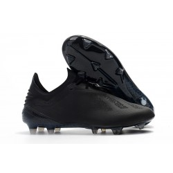 adidas X 18.1 FG New Soccer Cleats - Black