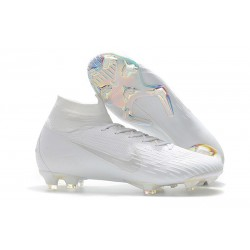 Nike Mercurial Superfly 6 Elite FG Firm Ground Boots - White