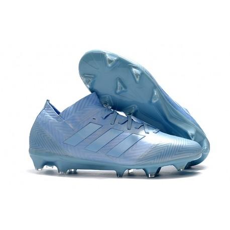 adidas Nemeziz Messi 18.1 FG Soccer Cleats - Blue