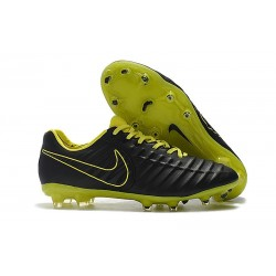 Nike Tiempo Legend VII Elite FG Mens Cleats - Black Volt