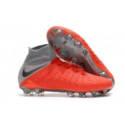 New Nike Hypervenom Phantom 3 DF FG - Red Gray