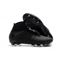 New Nike Hypervenom Phantom 3 DF FG - Black Silver